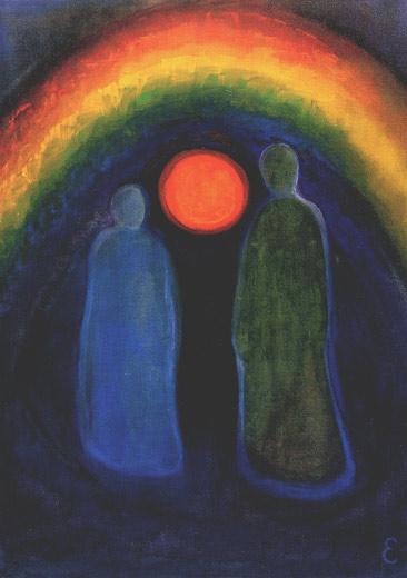 'Toen spiritualiteit nog buiten ons bereik lag, m.b.t. religie.'